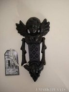 Gietijzeren deurklopper Engel